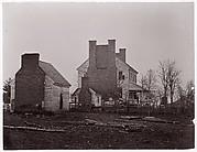 Lewis House. Battlefield of Bull Run