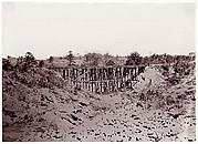 Confederate Trestle Work on Alexandria Railroad