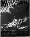 [U.S.S. Shaw Exploding, Pearl Harbor, December 7, 1941]
