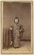 [Girl with Striped Robe]