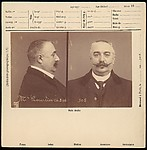 [Anthropometric File Card: Mr. Courtier]