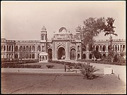 [Mermaid Gateway, Kaiser Bagh, Lucknow, India]