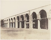 Le Kaire, Mosquée d'Amrou - Intérieur - Côté du Sanctuaire