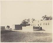 Syout, Habitations Arabes sur le Bord du Nil