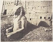 Karnak (Thèbes), Troisième Pylône - Colosse de Spath Calcaire, en D