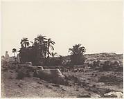 Karnak (Thèbes), Avenue de Sphinx - Vue Générale Prise du Point G
