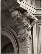 Cast Iron Figure, Old San Francisco Building, California