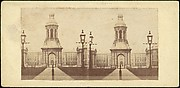 [Group of 15 Early Stereograph Views of Cambridge, England and the Surrounding Area]