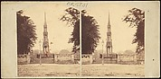 [Group of 8 Early Stereograph Views of British Monuments, Memorials, and Tombs]