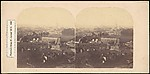 [Group of 6 Early Stereograph Views of British Cityscapes]