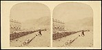 [Group of 17 Early Stereograph Views of British Seascapes and Waterscapes]