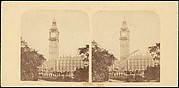 [Pair of Early Stereograph Views of London, England]