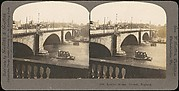 [Group of 4 Stereograph Views of London Bridges]