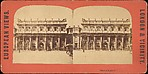 [Group of 4 Stereograph Views of the Bank of England, London]