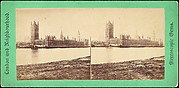 [Group of 5 Stereograph Views of the Houses of Parliament, London, England]