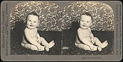 [Group of 4 Stereograph Views of Babies]