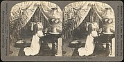 [Group of 28 Stereograph Views of Children]