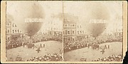 [Stereograph View of a Hot Air Balloon]