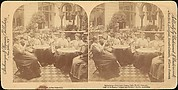 [Group of 4 Stereograph Views of Berlin Beer Gardens]