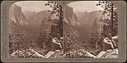 [Group of 23 Stereograph Views of Yosemite Valley Housed in Original Publisher's Box]