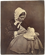 [Paul Nadar at the Breast of His Wet Nurse]