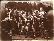 [Officer of the 92nd Gordon Highlanders Reading to the Troops, Edinburgh Castle]