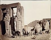 The Rameseum of El-Kurneh, Thebes