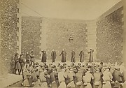 Excution des otages, prison de la Roquette, le 24 mai 1871