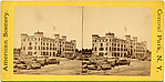 [29 Stereographic Views of the Arsenal, Exterior Views, Central Park, New York]