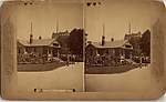 [19 Stereographic Views of Buildings Bordering the Park, Central Park, New York]