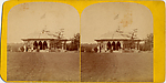 [24 Stereographic Views of Mineral Springs Pavillion, Central Park, New York]