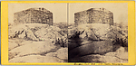 [5 Stereographic Views of Block House of 1812, Old Powder Magazine, Old Fort of the War of 1812, Central Park, New York]