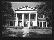 [Greek Revival House with Full-Height Entry Porch, Haydenville, Massachusetts]