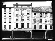 [Waterfront Brick Buildings in Fulton Market, New York City]