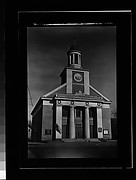 [Greek Revival Church with Date Placard