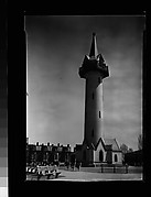[Gothic Revival Watertower, Roxbury or Dorchester, Massachusetts]