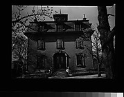 [Second Empire House with Mansard Roof, Massachusetts]