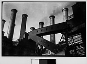 [Factory and Smokestacks, New York City]