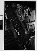[New York City Intersection, From High Elevation]