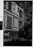 [Courtyard Window Showing Walker Evans's Apartment at 5, rue de la Santé, Paris]
