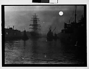 [South Seas: Steamers, Tankers, and Sailing Ships in Port]