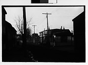 [Row of Frame Houses Along Street, Possibly Newcastle, Delaware]