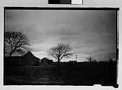 [Farm Buildings, From Moving Car, Mobile, Alabama]