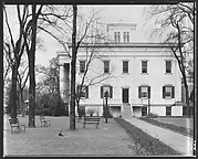 [Right Wing of Greek Revival Building, Executive Mansion, Milledgeville, Georgia]