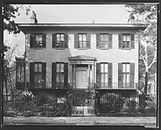 [Greek Revival House, 329 Abercorn Street, Lafayette Ward, Savannah, Georgia]