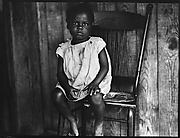 [Young Girl Seated in Chair, Florida]
