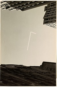 [Skywriting, New York City]
