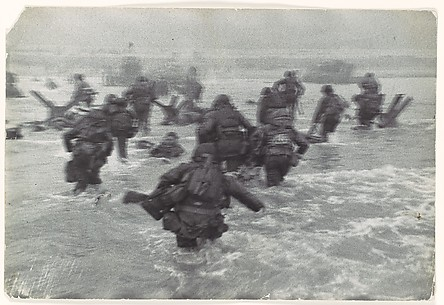 [American Troops Landing on D-Day, Omaha Beach, Normandy Coast, France]