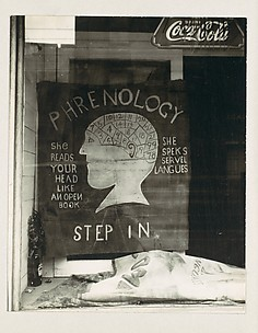 [Phrenologist's Window, New Orleans, Louisiana]