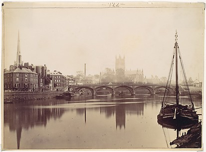 Worcester. From the Severn